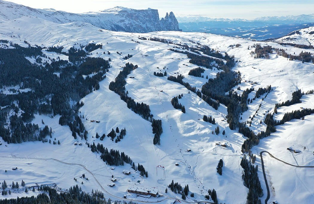 Chairlift Floralpina South Tyrol in Castelrotto / Alpe di Siusi